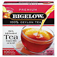 Bigelow Single Flavor Tea - 100 count