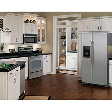 GE® Stainless Steel Kitchen Package - Elec. - 4 Pc.