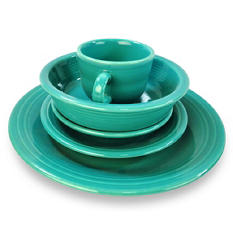 Fiesta 5-Piece Place Setting - Assorted Colors + $2.97 Shipping
