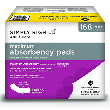 Simply Right Ultra Plus Pads - 168 ct.
