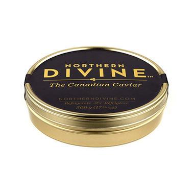 Northern Divine Certified Organic Sturgeon Caviar (500 g tin)