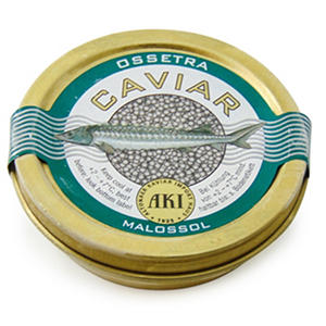 Osetra Sturgeon Caviar, Germany's Finest (30 g tin)