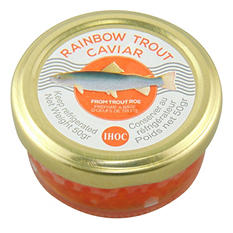 Rainbow Trout Caviar (50g tin)