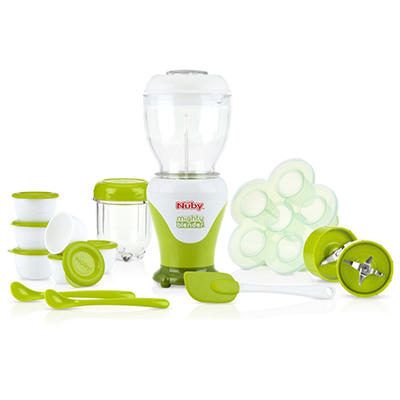 Nuby Garden Fresh Mighty Blender Kit (22 pieces)