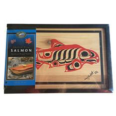 Smoked King Salmon Cedar Gift Box (8 oz.)