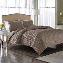 Nicole Miller Serenity Coverlet Set, Queen (3 pc. set)