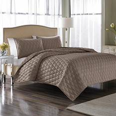 Nicole Miller Serenity 3-Piece Coverlet Set - Queen