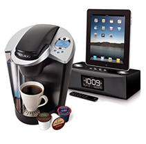 Keurig and iHome Alarm Clock Bundle