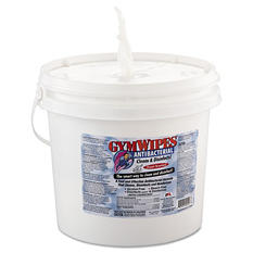 Gym Wipes Antibacterial Surface Cleaner Wipes Bucket - 2 pk. - 700 ct. each