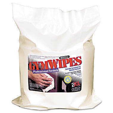 Gym Wipes Professional Surface Cleaner Wipes Refill - 4 pk. - 700 ct. each