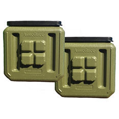 AmmoBrick Stackable Storage Container (1.6-gal., 2-pk.)