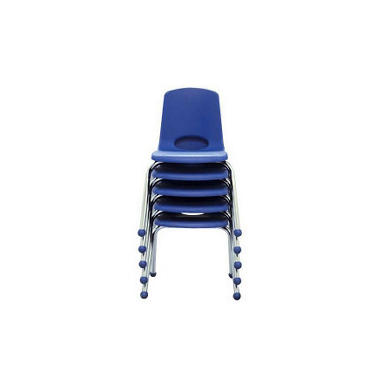"Child's Stack Chair - 14"" - Various Colors - 6 Pack"