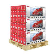 "JVC 43"" 1080p LED TV - LT-43EM75 - 18 units"