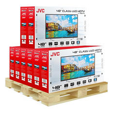 "JVC 48"" 720p LED TV - LT-48EM75 - 8 units"