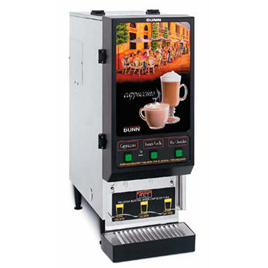 Bunn FMD-3 Fresh Mix Hot Drink Dispenser with 3 Hoppers
