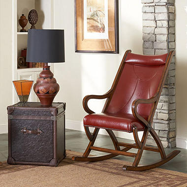 Spencer Rocker - Red