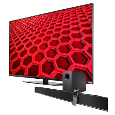 "VIZIO 48"" Class 1080p LED HDTV w/ VIZIO 2.1 Home Theater Soundbar System"