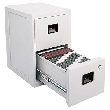 Sentry Safe - FIRE-SAFE Insulated Vertical File, 2-Drawer, A4/Letter/Legal, 23