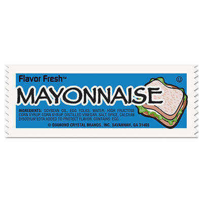 Flavor Fresh Mayonnaise Packets - 9g - 200 ct.