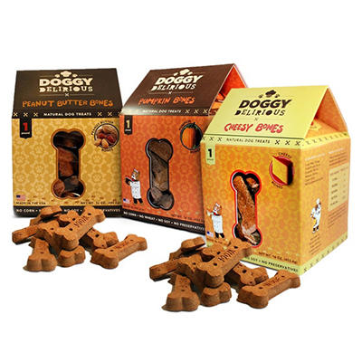 Doggy Delirious Dog Treats - Choose 3 Flavors