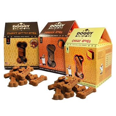Doggy Delirious Dog Treats - Choose 3 Flavors