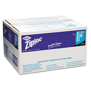 Ziploc® Commercial Foodservice Freezer Bags - 250 ct.
