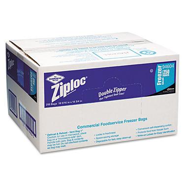Ziploc® Commercial Foodservice Freezer Bags - 250 ct.