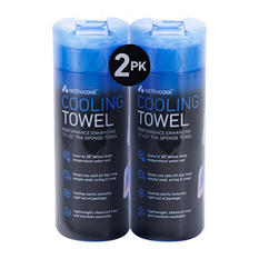 Atomi Activcool Cooling Towel - 2 Pack