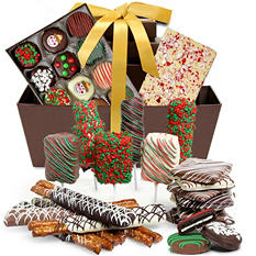 Ultimate Holiday Chocolate-Covered Gift Basket (40 pc.)