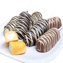 Belgian Chocolate-Covered Twinkies (6 pc.)