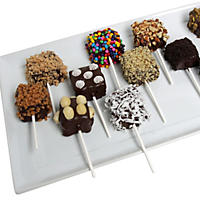 Ultimate Chocolate-Dipped Rice Krispies Bite Pops (12 pc.)