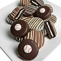 Baseball Chocolate-Covered Oreo Cookies (12 pc.)