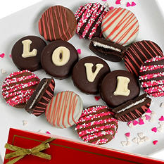 LOVE Chocolate-Covered Oreo Cookie Expression (12 pc.)