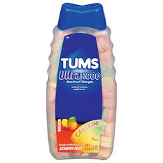 Tums Ultra Strength 1000 Chewable Tablets, 265 ct. (Choose Your Flavor)