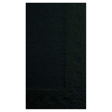 Hoffmaster Dinner Napkins - Black - 1000 ct.