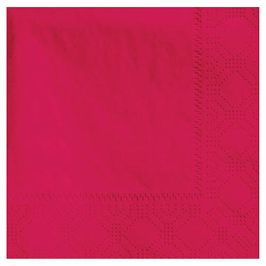Hoffmaster Cocktail Napkins - Red - 1000 ct.