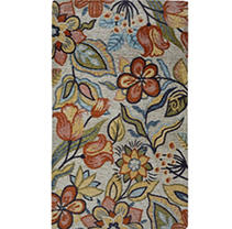 Cloudwalk Woven Tapestry Rug With Orthopedic Foam - Le Jardin