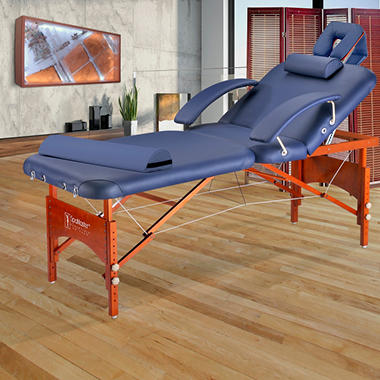 "Master Monroe Spa Portable LX  Massage Table Package - 30"" - Carry Case"