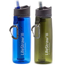 LifeStraw Go Water Bottle with 2-Stage Filtration (2 pack)