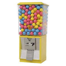 Northwestern Super 60 Gumball Machine - Yellow