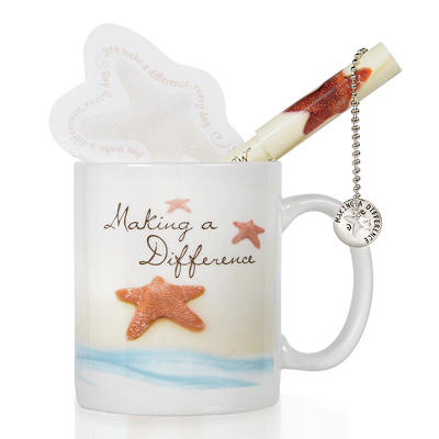 Baudville Celebration Starfish: Making a Difference Gift Set