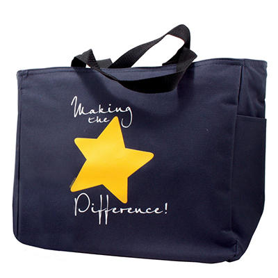 Baudville Making the Difference Tote Bag