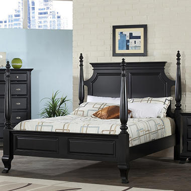 Brinley Poster Bed by Lauren Wells - King