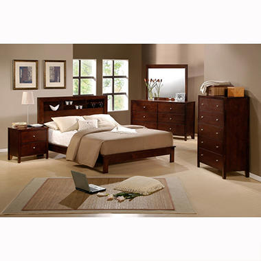 Alexa Queen 4 Piece Bedroom Set by Lauren Wells