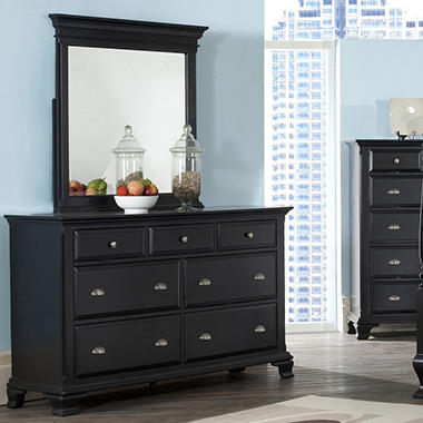 Brinley Dresser and Mirror by Lauren Wells