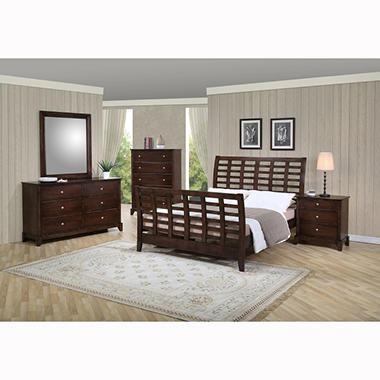 Lancaster Bedroom Set By Lauren Wells Queen 5 Pc
