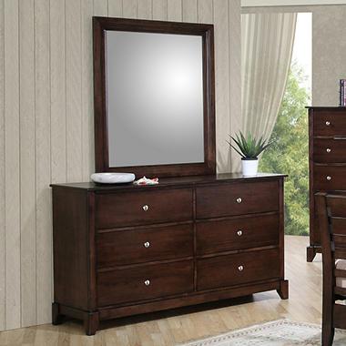 Lancaster Dresser And Mirror By Lauren Wells Sam 39 S Club