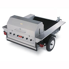 "Towable Grill - 48"" Stainless Steel"