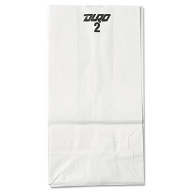#2 White Paper Bag - 500 ct.
