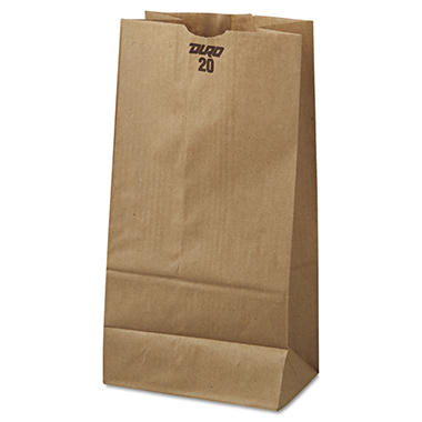 #20 Natural Paper Bag, 500 ct.